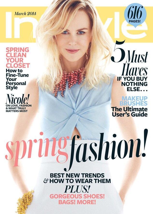 Nicole Kidman, InStyle