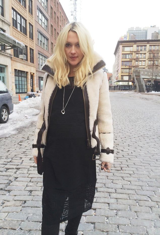 Zanna Roberts Rassi, NYFW Diary, Cobblestone Look