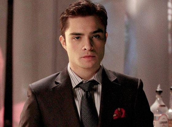 Chuck Bass Is Back! Ed... Ed Westwick Now
