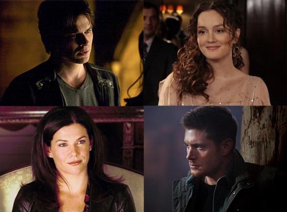 Supernatural, Gilmore Girls, Vampire Diaries, Gossip Girl