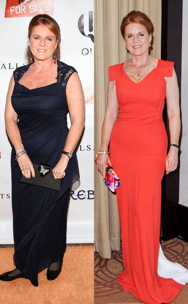 Sarah Ferguson, Weight Loss