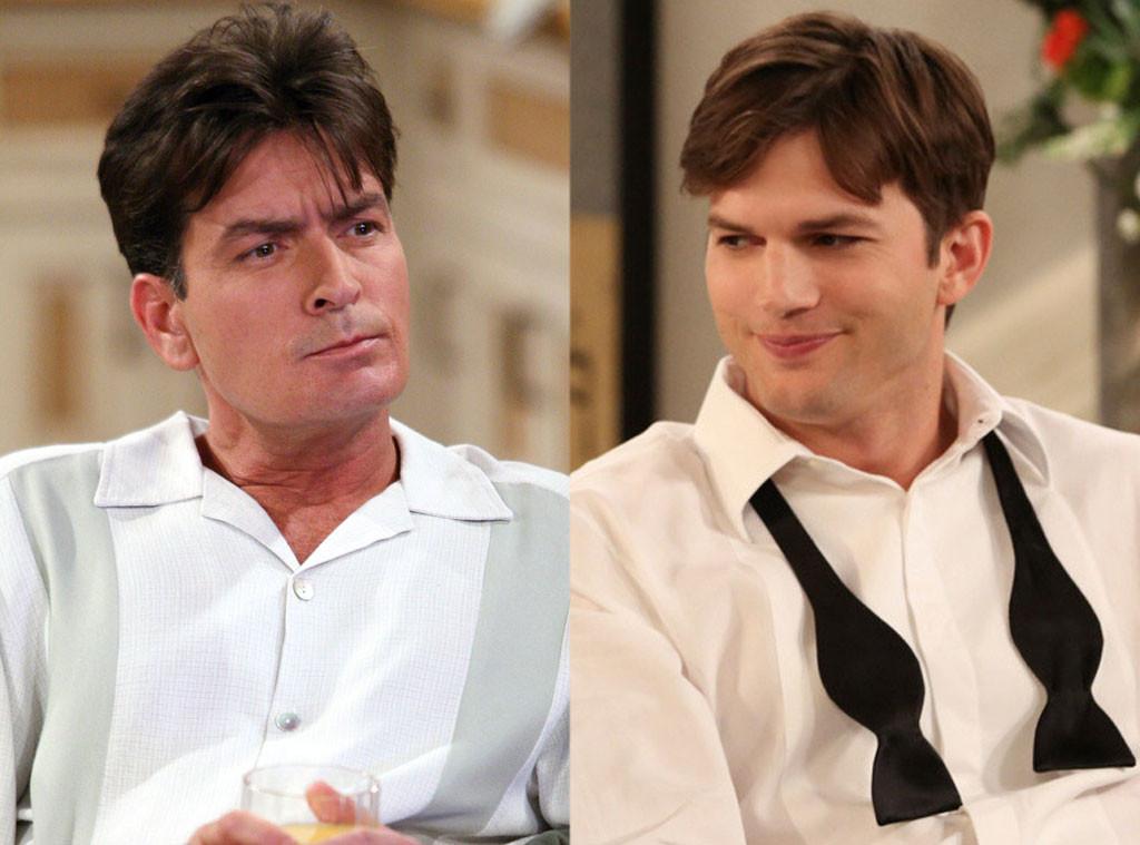 Ashton Kutcher, Charlie Sheen, Two And A Half Men