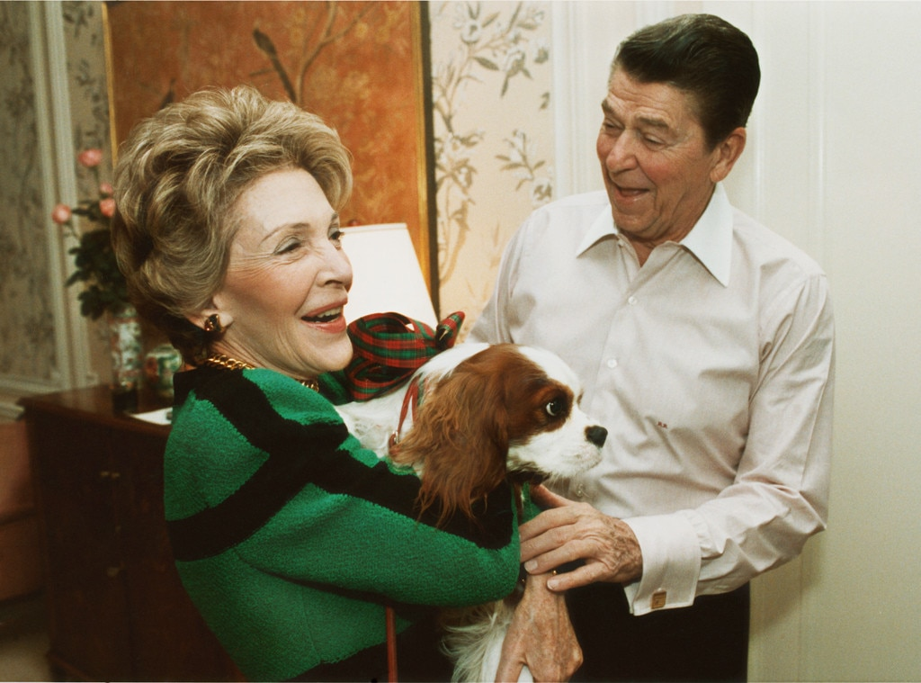 Nancy Reagan, Ronald Reagan, Dog