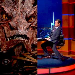 Stephen Colbert, Smaug