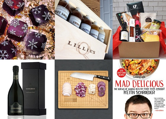 Foodie Gift Guide Collage
