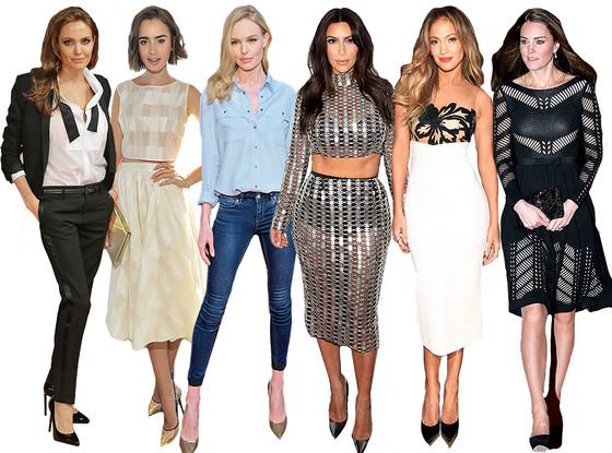 Best of 2014: Biggest Celeb Fashion Trends
