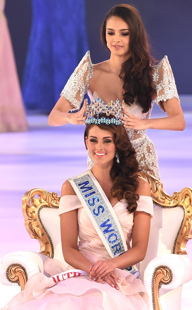 Rolene Strauss, Megan Young, Miss World