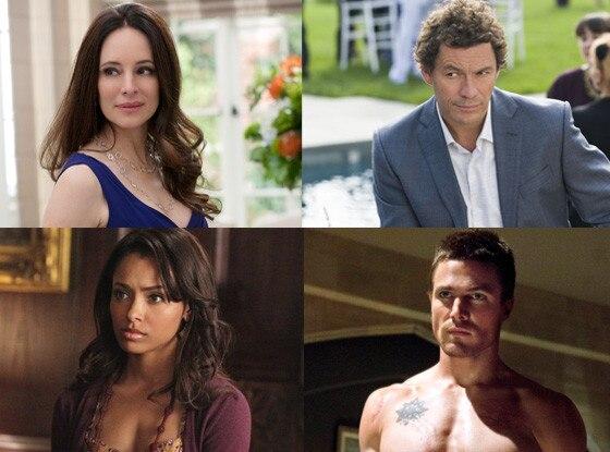 Kat Graham, Vampire Diaries, Stephen Amell, Arrow, Madeleine Stowe, Revenge, Dominic West, The Affair
