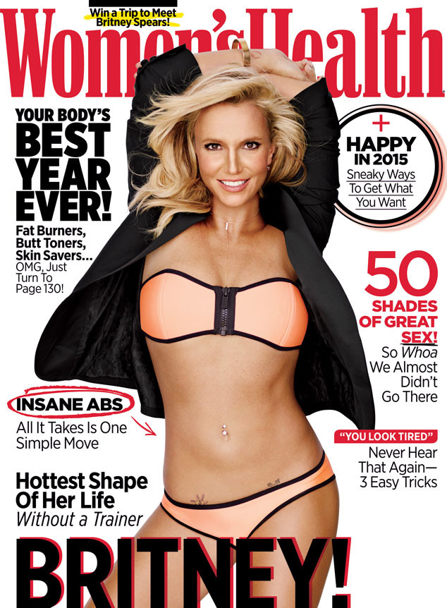 Britney Spears, Womens Health