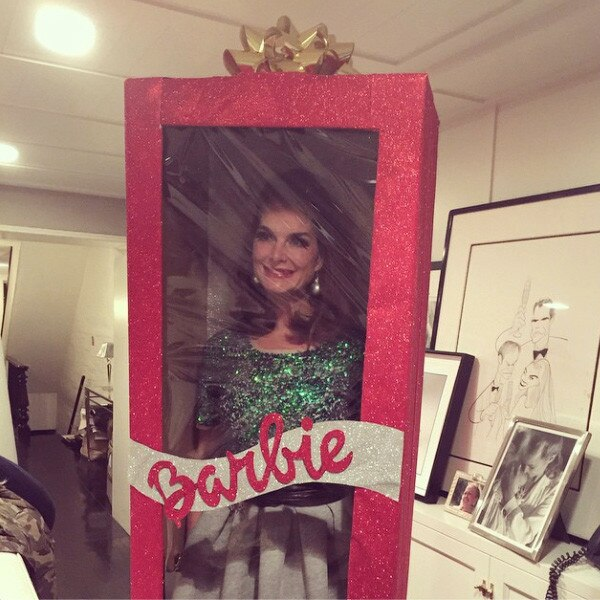 Brooke Shields Turns Herself Into A Human Barbie Poses In