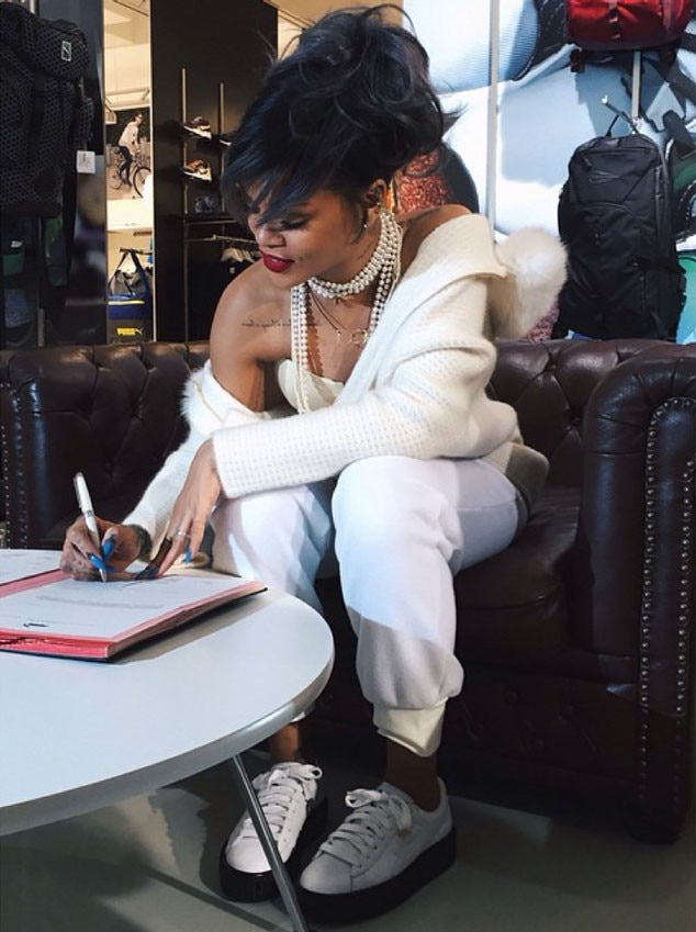 Puma Platform Trainers Rihanna