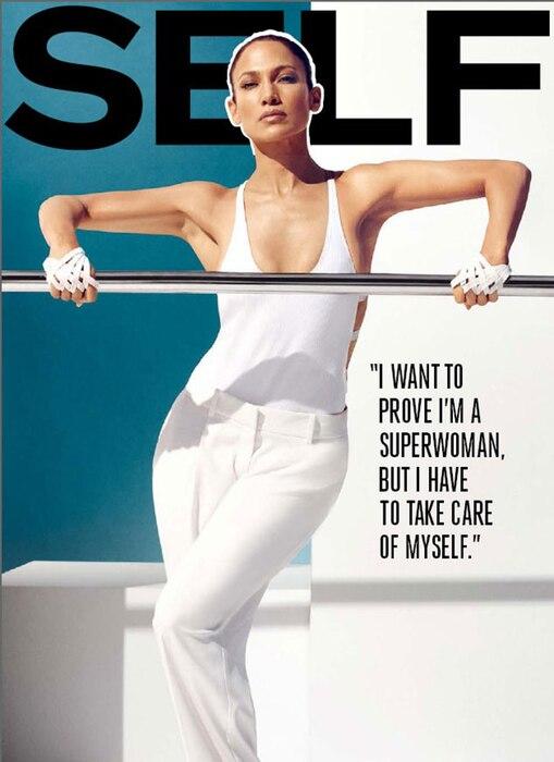 Jennifer Lopez, SELF Magazine