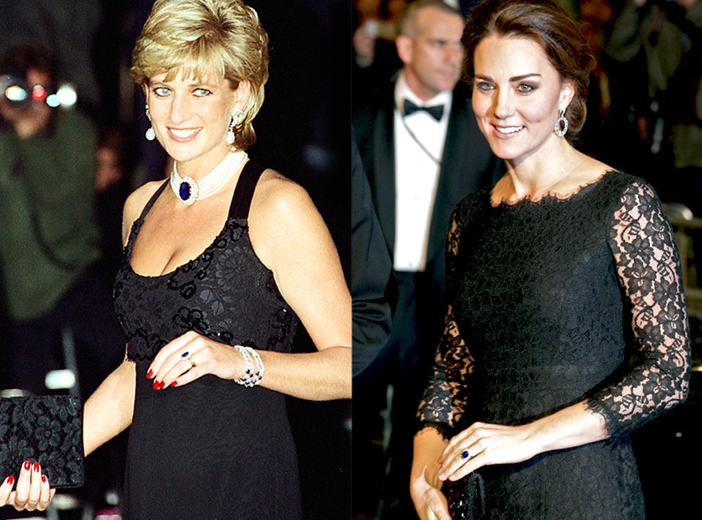 Princess Diana, Kate Middleton, Royal Jewels