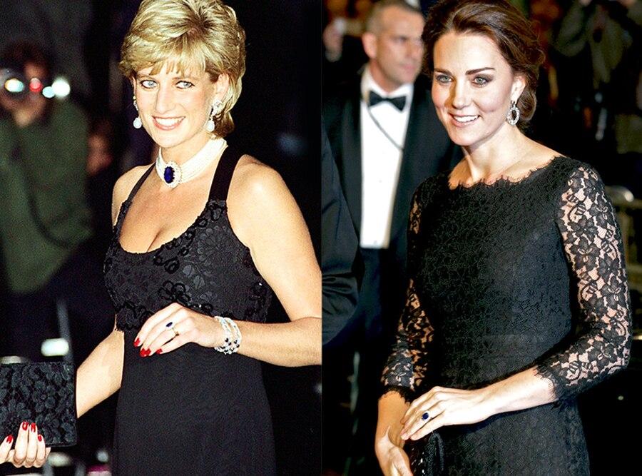Princess Diana, Kate Middleton, Royal Jewels