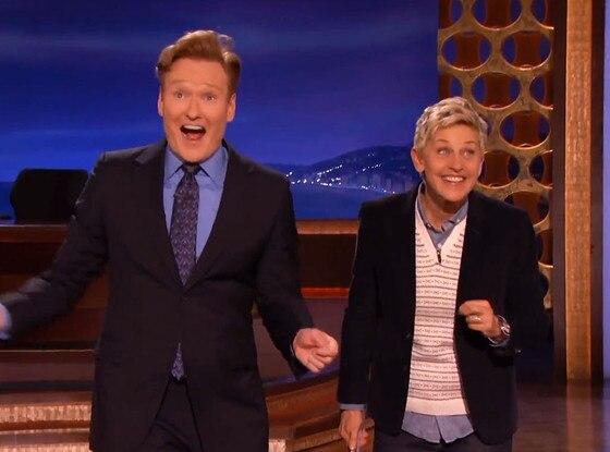 Conan O'Brien, Ellen Degeneres