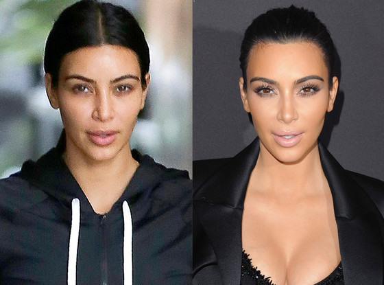 The kardashians without makeup