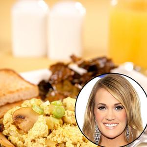 Celebs favorite vegan/vegetarian dishes, Carrie Underwood