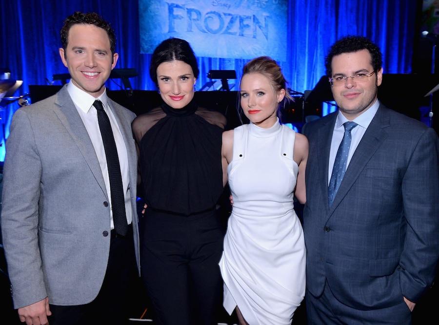 Kristen Bell, Idina Menzel, Josh Gad, Santino Fontana, Frozen Cast