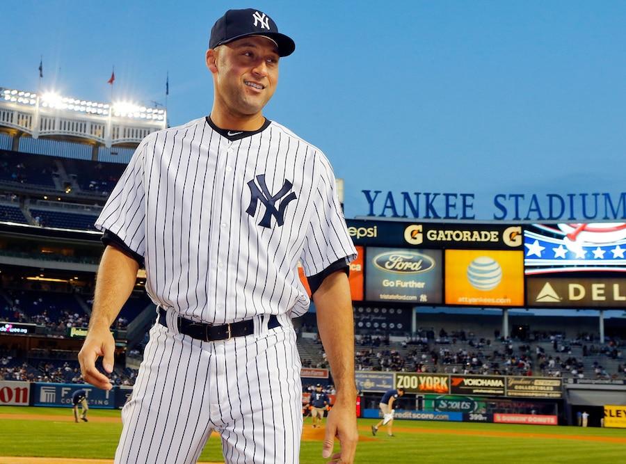 Derek Jeter, New York Yankees looks