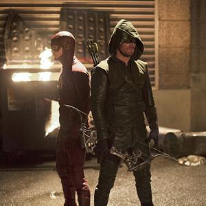 The Flash vs. Arrow Crossover
