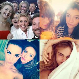 Best Celeb Selfies of 2014