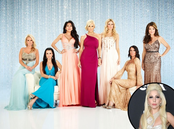 THE REAL HOUSEWIVES OF BEVERLY HILLS Cast, RHOBH, Lady Gaga