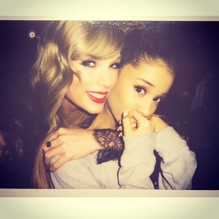 Taylor Swift, Ariana Grande, Instagram