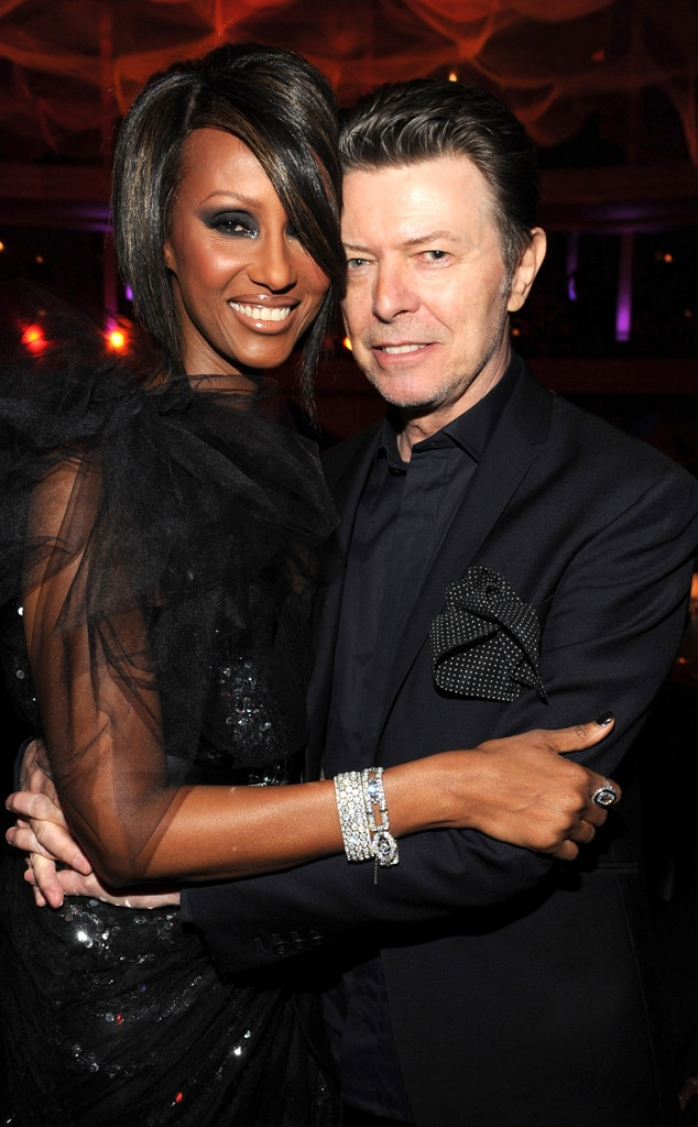 Iman, David Bowie, Celebrity Couples
