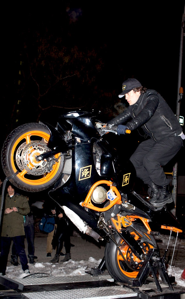Orlando Bloom, Popawheelie