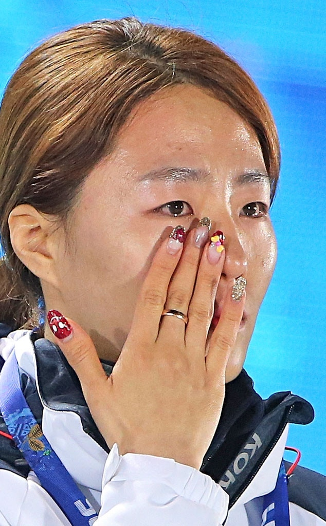 Crying Olympics, Lee Sang Hwa