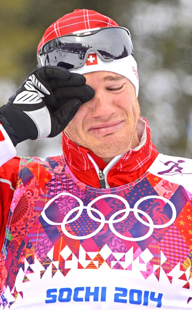 Crying Olympians, Dario Cologna