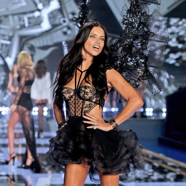 Adriana Lima From 2014 Victoria S Secret Fashion Show E