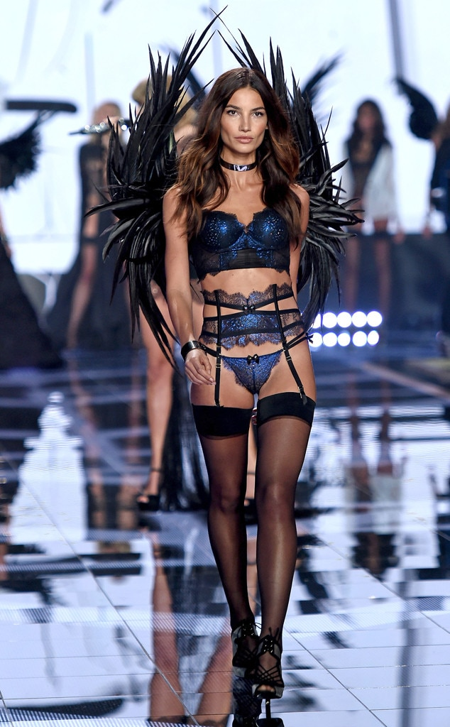 Lily Aldridge from 2014 Victoria's Secret Fashion Show | E ...