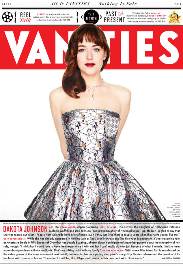 Dakota Johnson, Vanity Fair