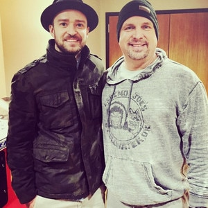 Justin Timberlake, Garth Brooks, Instagram
