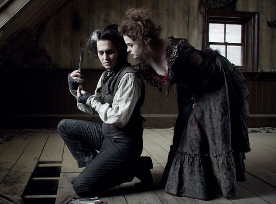 Johnny Depp, Helena Bonham-Carter, Sweeney Todd