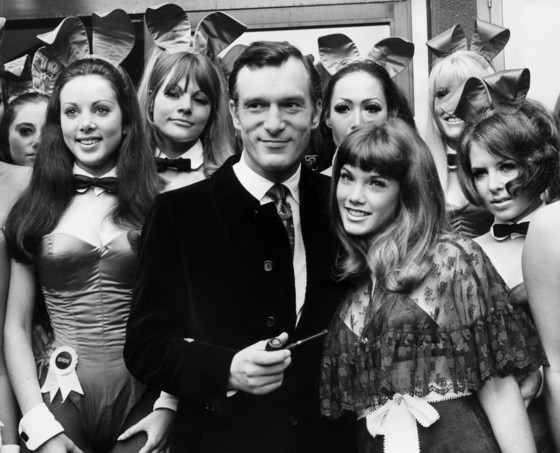 Hugh Hefner dies at the Playboy mansion at age 91
