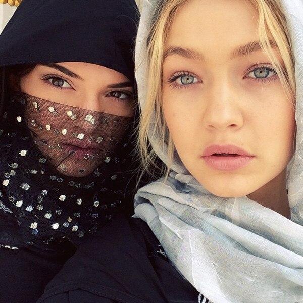Gigi Hadid, Kendall Jenner, Instagram