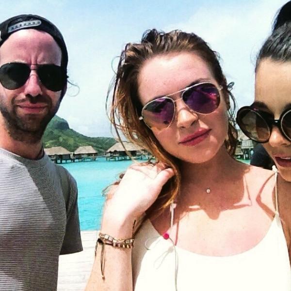 Lindsay Lohan Powering...