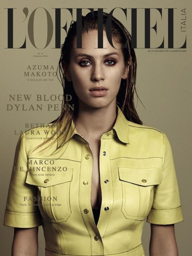 dylan penn nabs her first major magazine cover with l 39 officiel italia check it out e news. Black Bedroom Furniture Sets. Home Design Ideas
