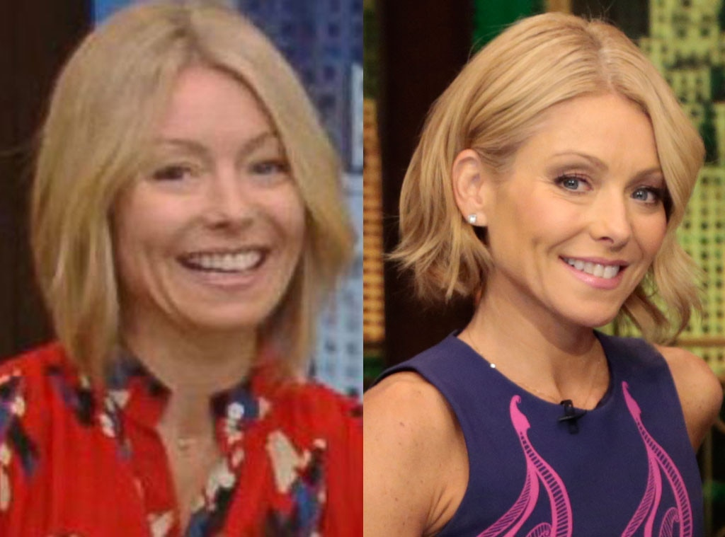 Kelly Ripa, Stars without Makeup