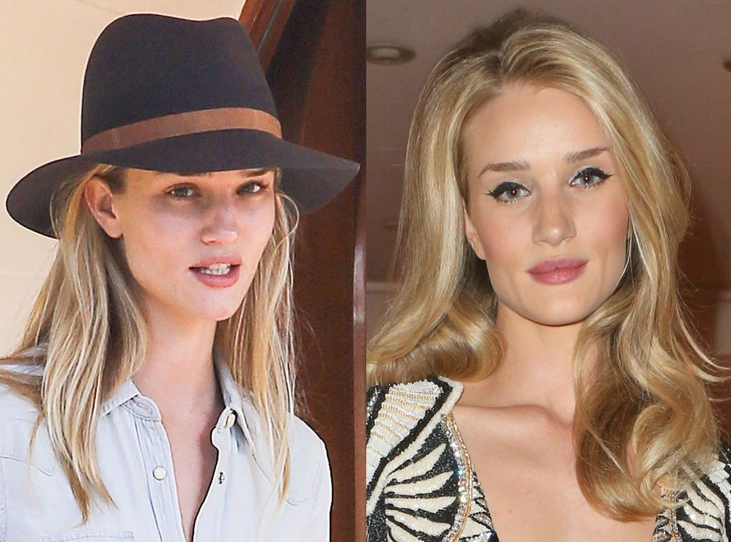Rosie HuntingtonWhiteley from Stars Without Makeup E News