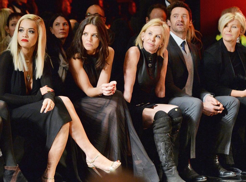 NYFW, Front Row, Rita Ora, Katie Holmes, Trudie Styler, Hugh Jackman, Deborra-Lee Furness