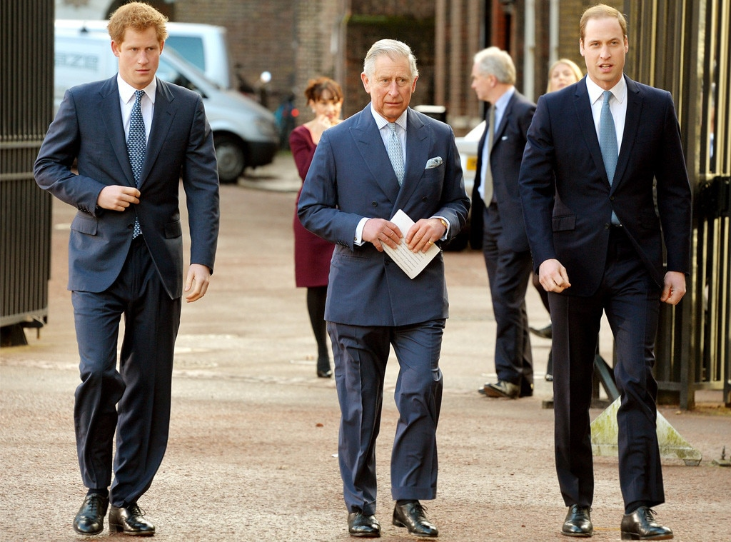 Prince Harry, Prince Charles, Prince William