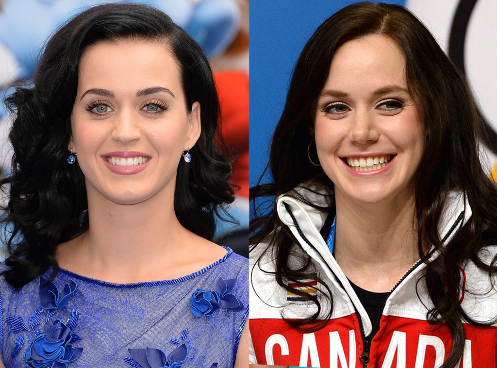 Katy Perry, Tessa Virtue