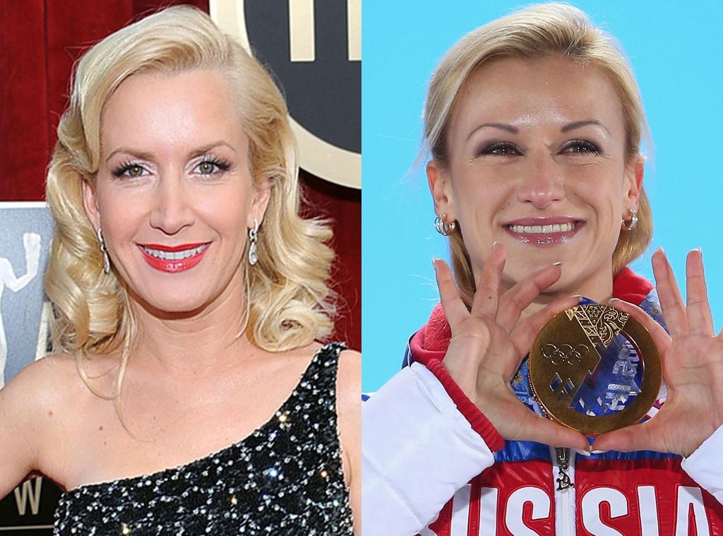 Tatiana Volosozhar, Angela Kinsey