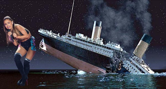 Ariana Grande Face Meme, Titanic