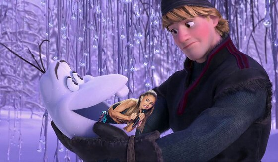 Ariana Grande Face Meme, Frozen