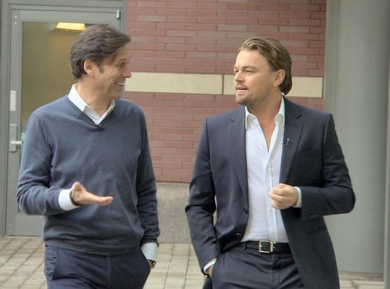 Charles Osgood, Leonard DiCaprio, CBS SUNDAY MORNING