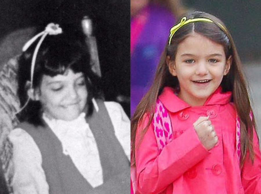 Young Katie Holmes, Twit Pic, Suri Cruise